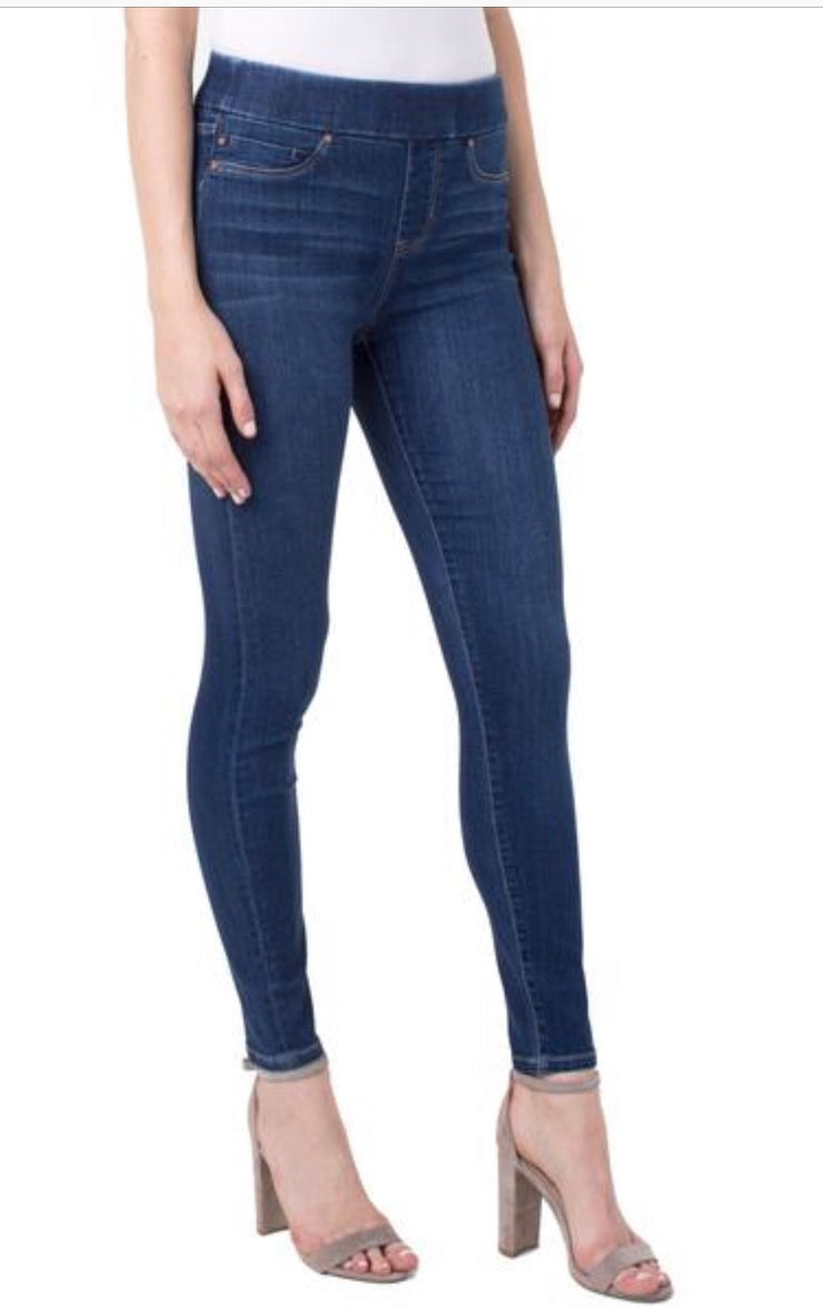 Pant - Farrah HighWaist Pull on Ankle Jean by Liverpool
