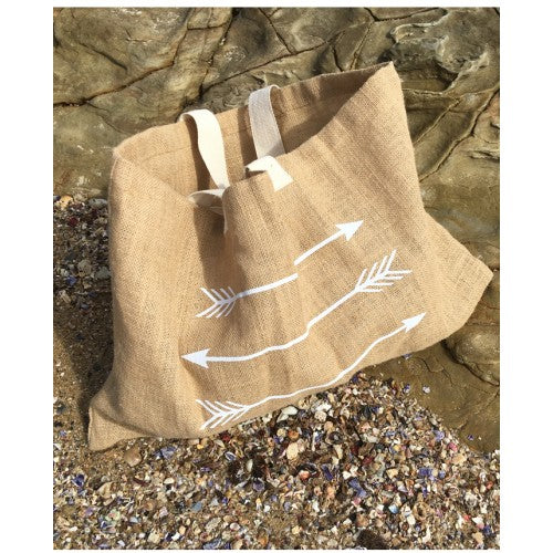 Bag  - Jute Arrows by Noosa Living