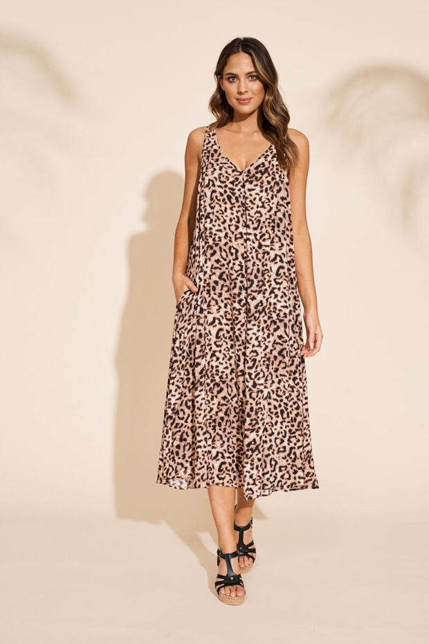 Dress - Savannah Maxi Leopard