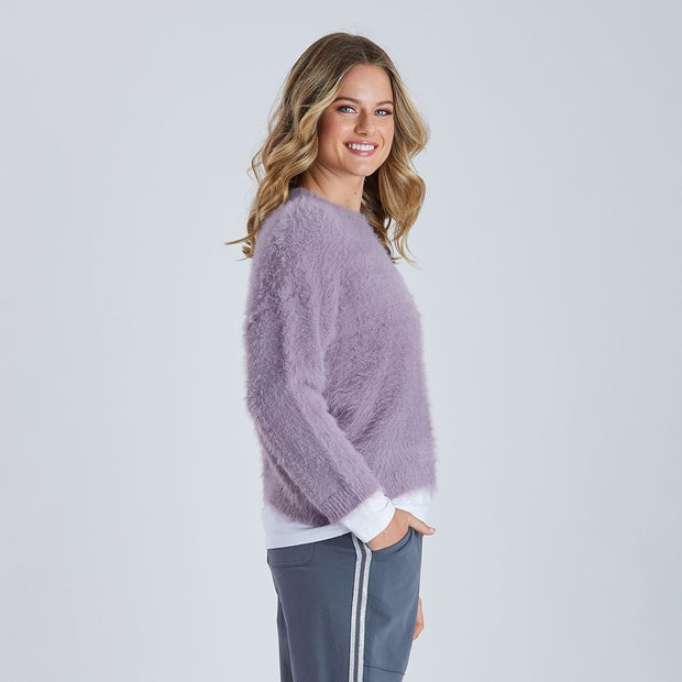 Jumper - Fluffy Shorter Knit by Threadz