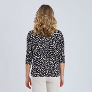 Top - Print Knot Front