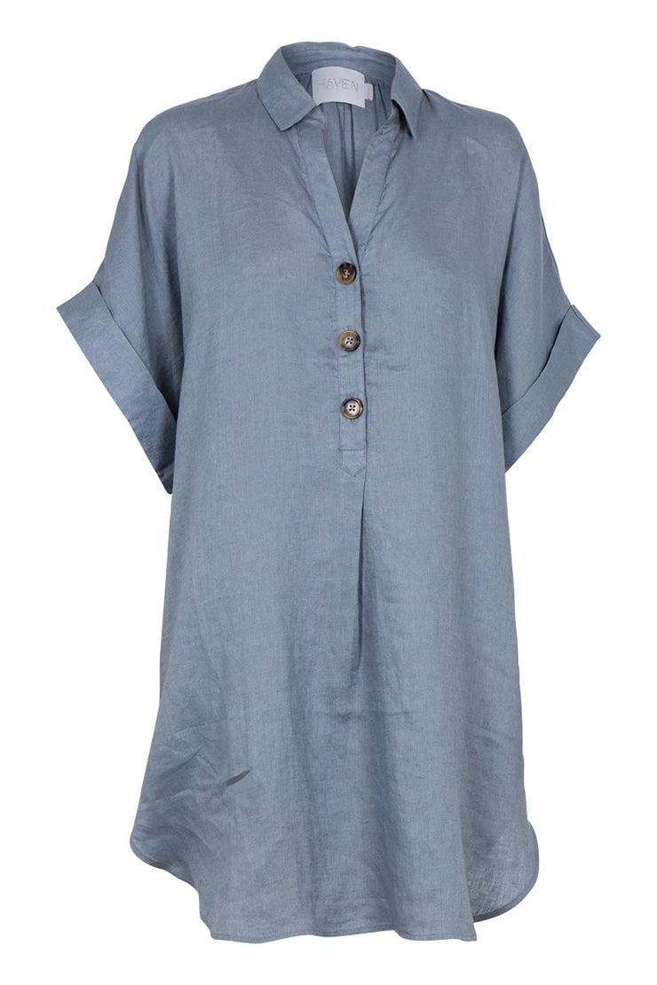 Dress - Santorini Linen Shirt