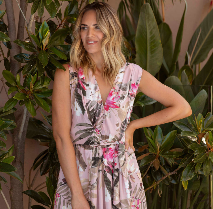 Dress - Summer Tropical Floral by JUMP