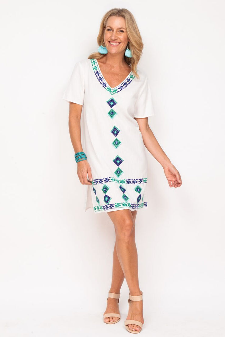 Dress - Sahara White