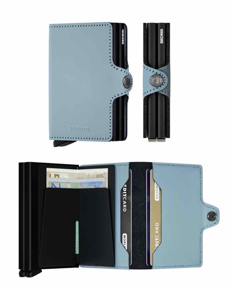 Wallet - Secrid Blue Matte Twin