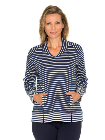 Top - Panelled Stripe