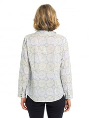 Top - Ornate Print Shirt by Yarra Trail