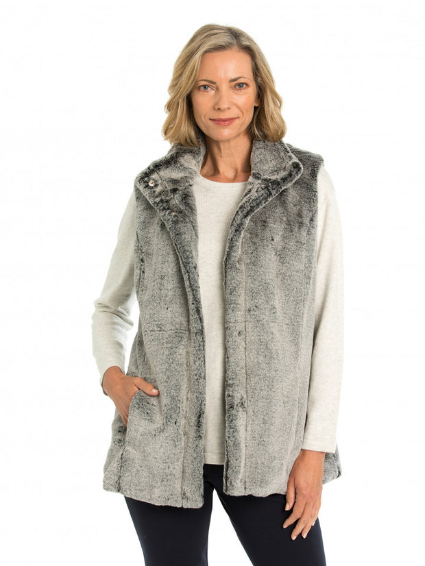 Vest - Faux Fur by Yarra Trail