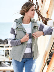 Vest - Soft Quilted Hooded