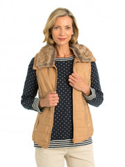 Vest - Zip Trim Quilted by Yarra