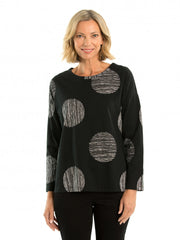 Top - Bold Spot Tee by Yarra Trail