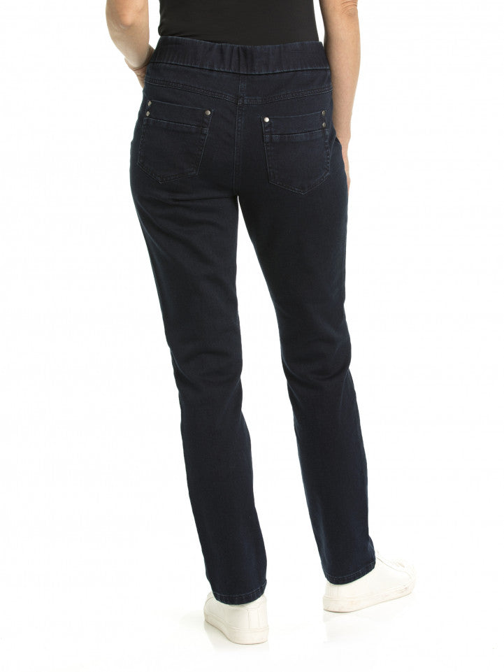 Pant - Dark Denim Wash Jegging Jean