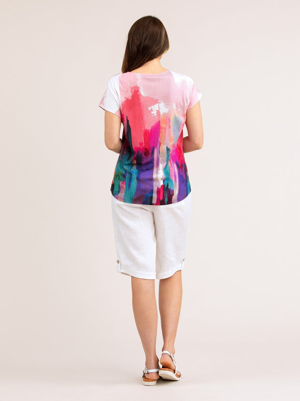 Top - Art Show Print Tee by Yarra Trail