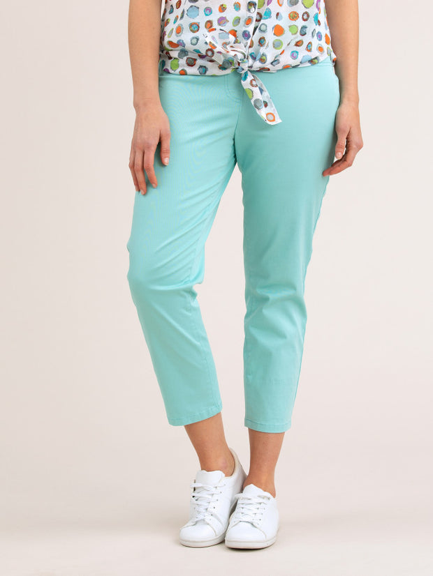 Pant - Pull on Cropped Jean by Yarra Trail