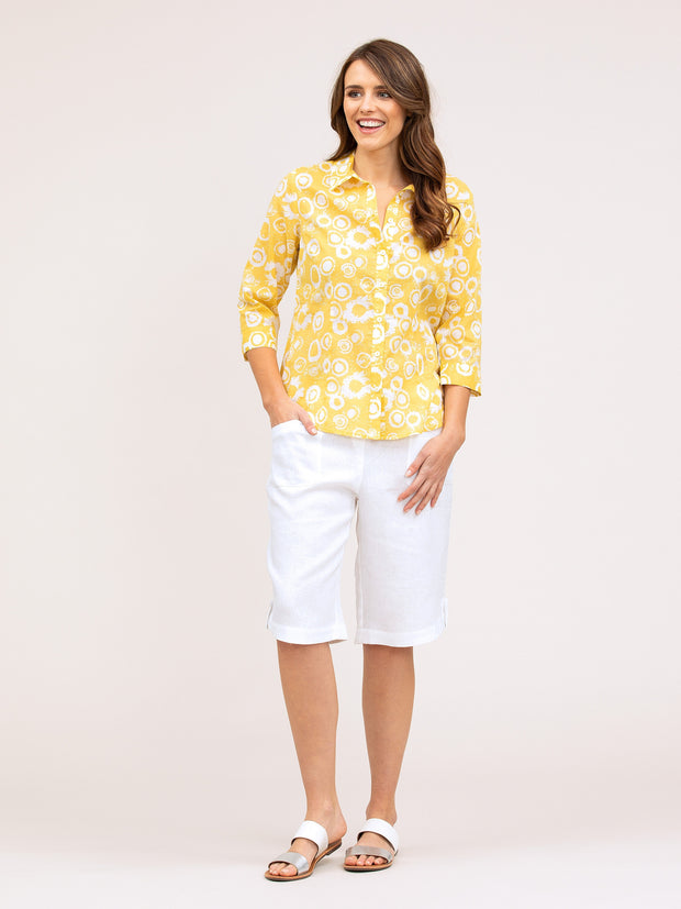 Top - Splash Print Shirt by Yarra Trail