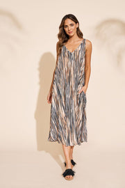 Dress - Savannah Maxi Zebra