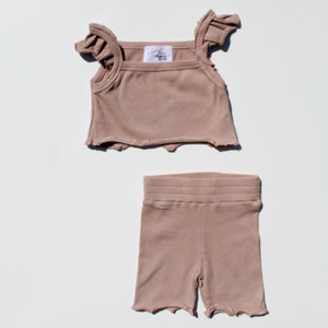 The Boheme Bike Short - Mulberry