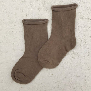 Load image into Gallery viewer, Ribbed Socks - Bark