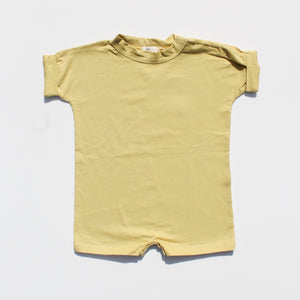 Load image into Gallery viewer, Everyday Cotton Romper - Mustard
