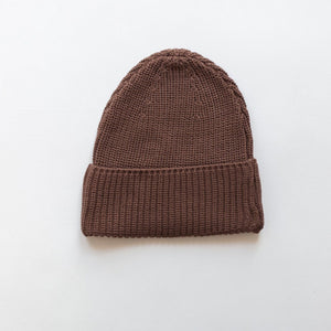 Load image into Gallery viewer, Chunky Knit Hat - Espresso