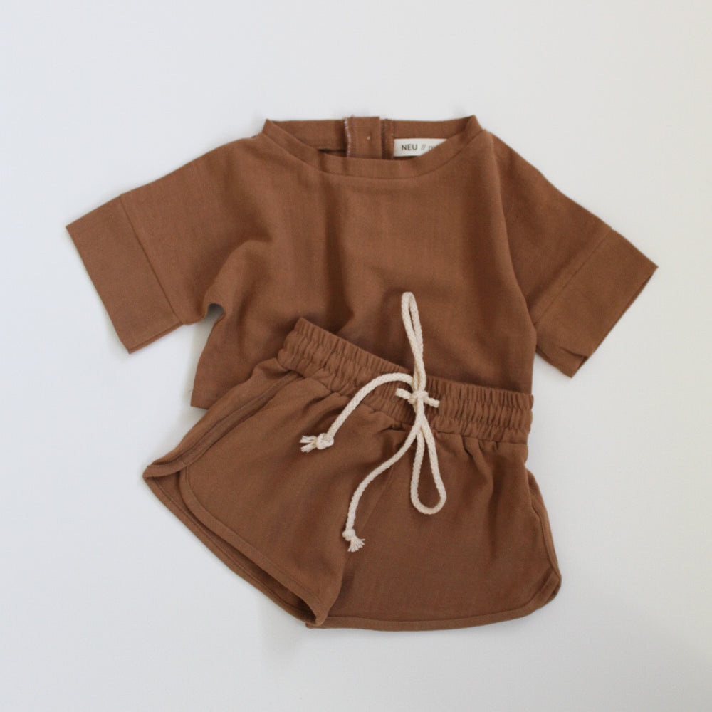 Everyday Linen Set - Tan