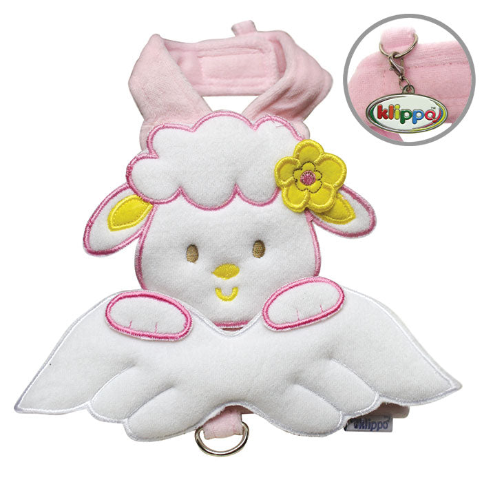 Sheep Angel Harness with Matching Leash