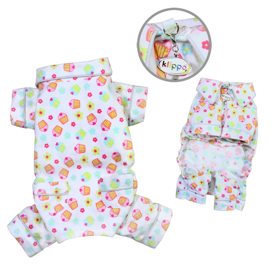 Cupcakes Fanatics Flannel PJ with 2 Pockets