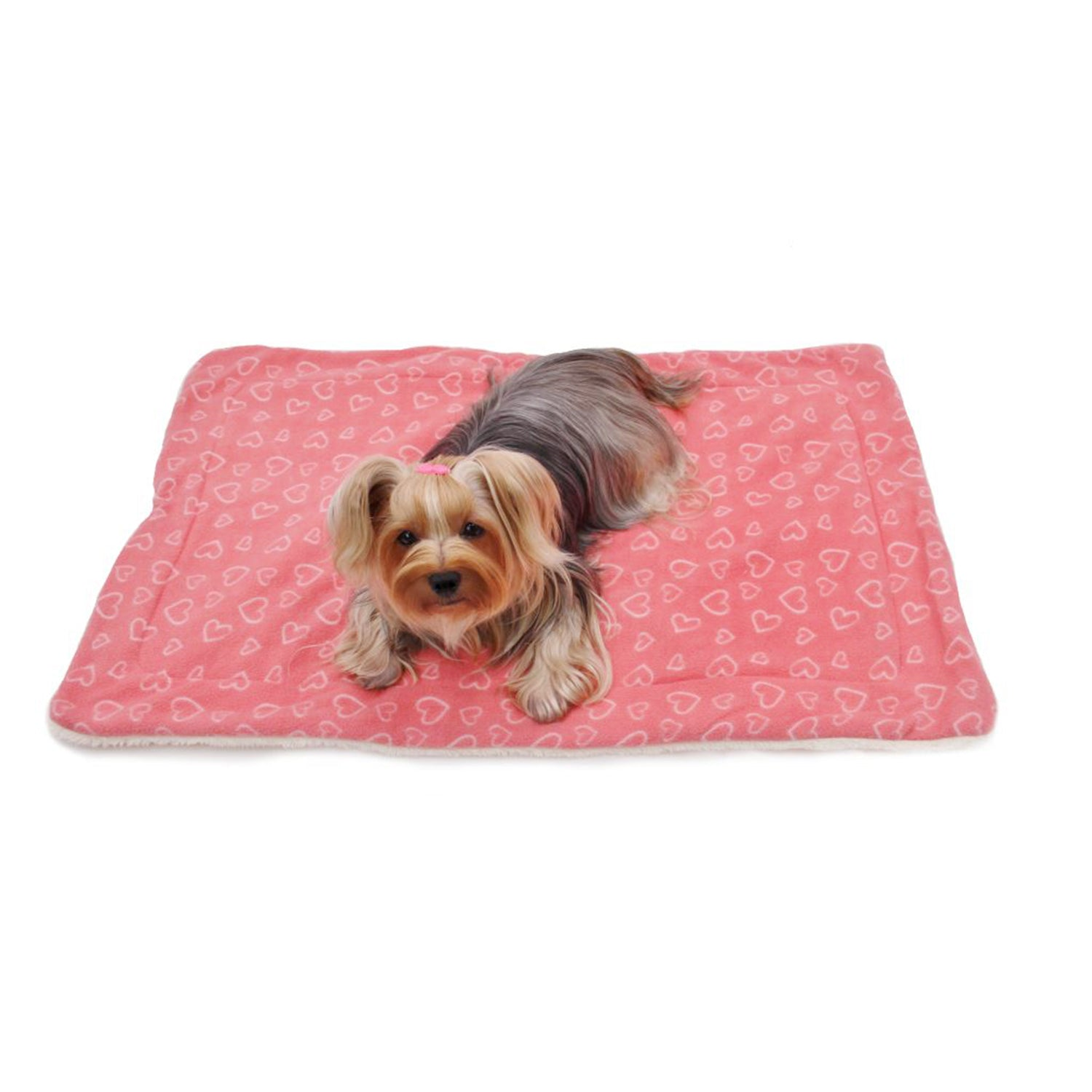 Blush of Love Fleece/Ultra-Plush Blanket