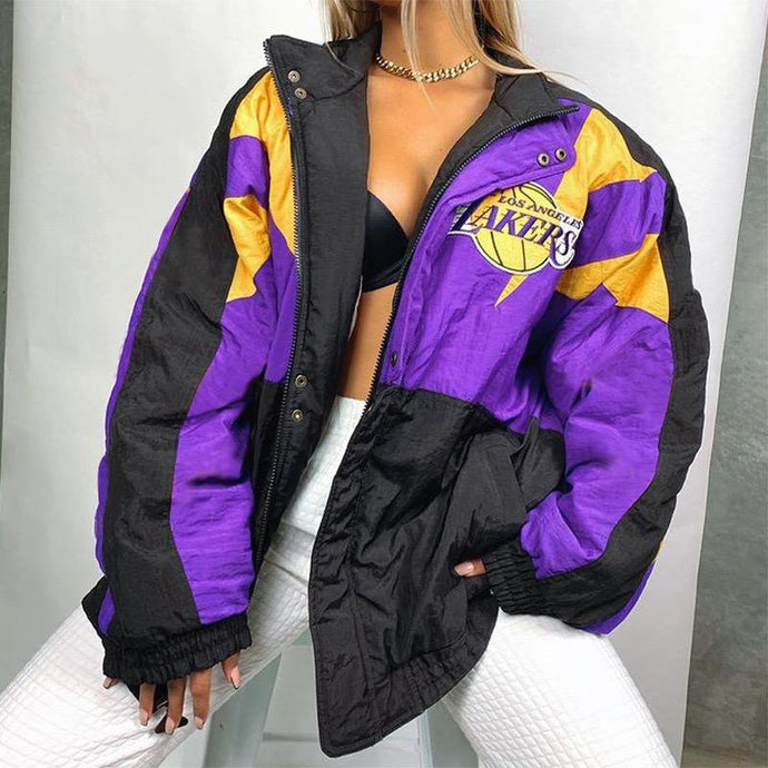 Chaqueta Lakers 1 - Champagne Mami Store