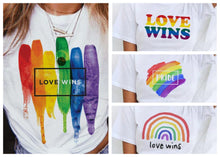 Load image into Gallery viewer, Love Wins T-Shirts