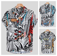 Load image into Gallery viewer, Paint By Numbers Button Up Shirt
