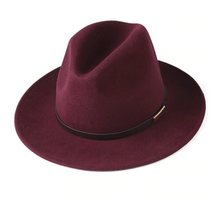 Load image into Gallery viewer, Down Unda' Wide Brim Wool Hat
