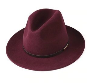 Down Unda' Wide Brim Wool Hat