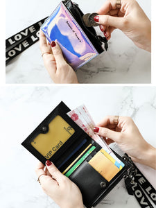 Slim Holographic Wallet