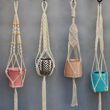 Load image into Gallery viewer, Handmade Macrame Planter Hanger