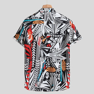 Paint By Numbers Button Up Shirt