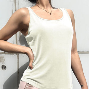 Backless Yoga Tank Top (Various Colors)