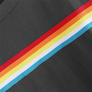 Rainbow Cropped T-Shirt