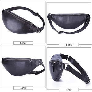 Leather Mommy Fanny Pack