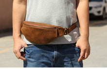 Load image into Gallery viewer, Leather Mommy Fanny Pack