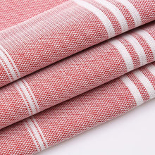 Load image into Gallery viewer, Red Turkish Towel folded