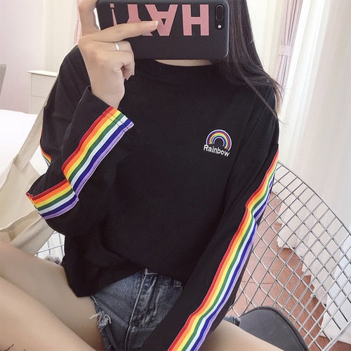 High Visibility Gay Long Sleeve T-Shirt
