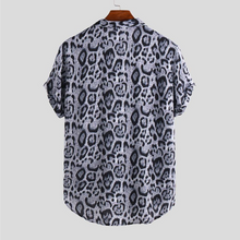 Load image into Gallery viewer, Leopard Print Button Up Shirt