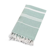 Load image into Gallery viewer, Green Turkish Towel