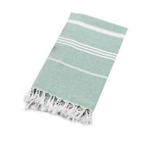 Green Turkish Towel