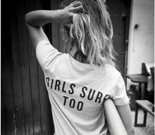 Load image into Gallery viewer, Girls Surf Too T-Shirt