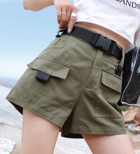 Load image into Gallery viewer, Lara Croft Utilitarian Shorts