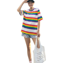 Load image into Gallery viewer, Retro Rainbow T-Shirt