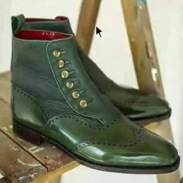 New Brock Luxury Comfortable Leather Boots