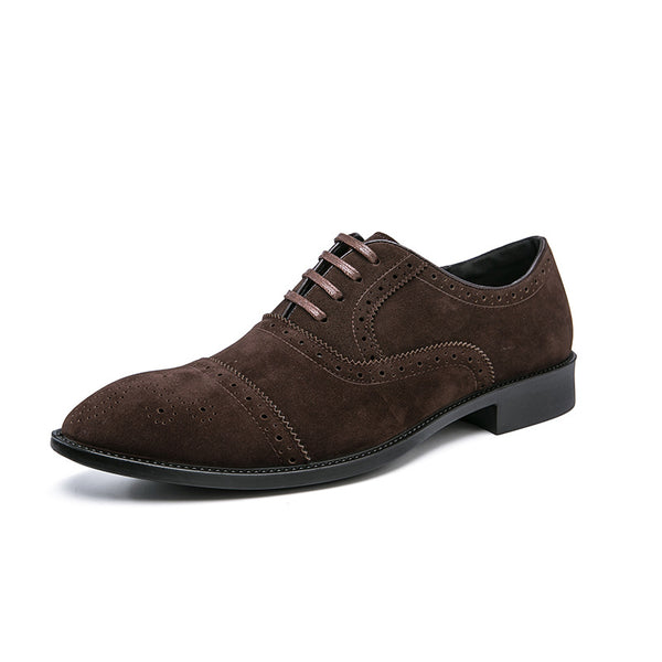Brock Carved Business Formal Shoes